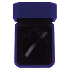 Aspire Velour Medal Box Blue – Takes 50mm Medal