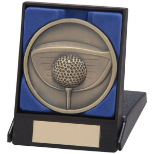 Links Series Golf Driver Medal In Box 70mm