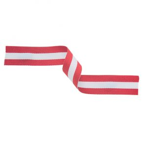 Medal Ribbon Red White & Red 395x22mm