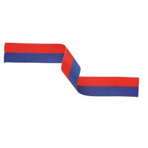 Medal Ribbon Blue & Red 395x22mm