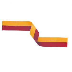 Medal Ribbon Red & Yellow 395x22mm