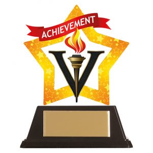Mini-Star Achievement Acrylic Plaque 100mm