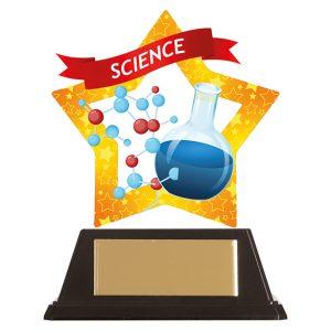 Mini-Star Science Acrylic Plaque 100mm