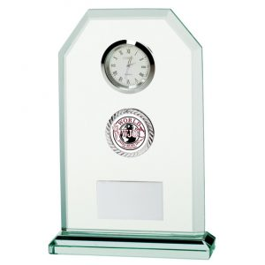 Jade Vitoria Multisport Crystal Clock 160mm