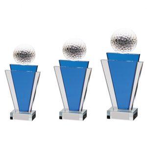 Gauntlet Golf Crystal Award