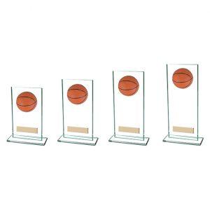 Horizon Basketball Jade Glass Award
