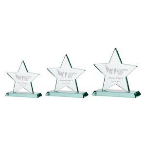 Galaxy Star Jade Crystal Award