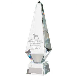Monument Crystal Obelisk Award 260mm
