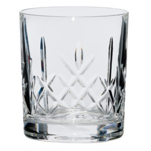 Whiskey Panelled Glass 90x85mm