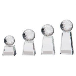 Voyager Golf Crystal Award
