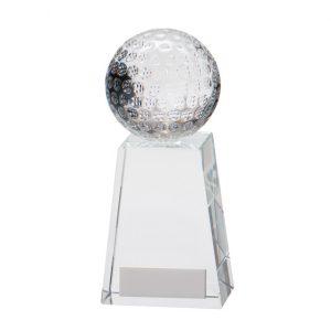 Voyager Golf Crystal Award – 145mm