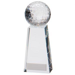 Voyager Golf Crystal Award – 165mm