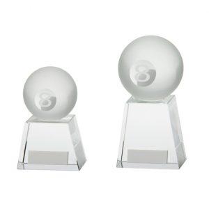 Voyager Pool Crystal Award