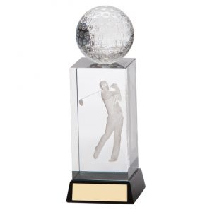 Stirling Golf Crystal Award