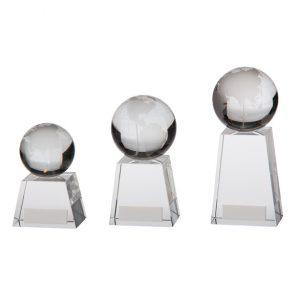 Voyager Globe Crystal Award