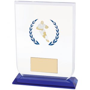 Gladiator Rugby Glass Award 140mm