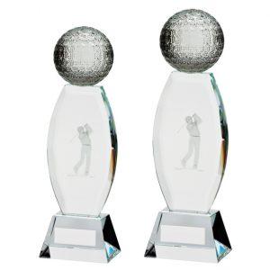 Infinity Golf Crystal Award