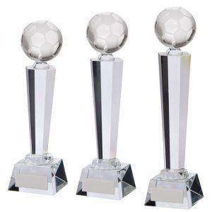 Interceptor Football Crystal Award