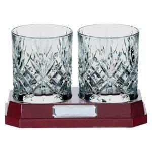 Lindisfarne St Oswald Whiskey Glasses Crystal 120mm
