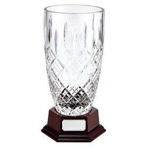 St. Bernica Crystal Vase