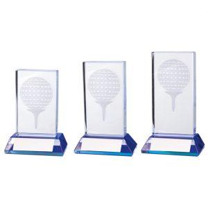 Davenport Golf Crystal Award