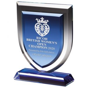 Delta Blue Crystal Award – 170mm
