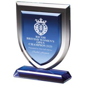 Delta Blue Crystal Award – 195mm