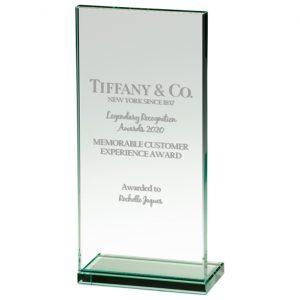 Austin Jade Glass Award – 215mm