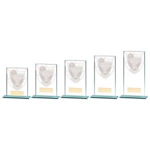 Millennium Basketball Jade Glass Award