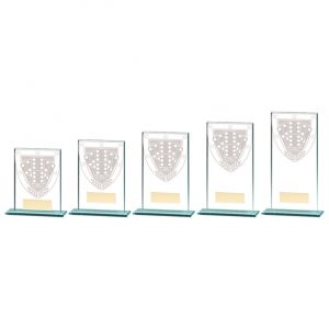 Millennium Dominoes Jade Glass Award
