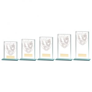 Millennium Football Jade Glass Award