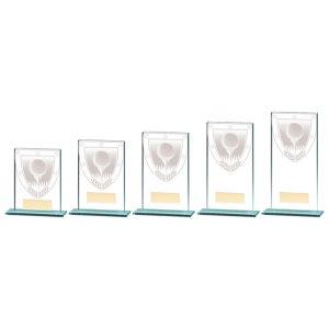 Millennium Golf Ball Jade Glass Award