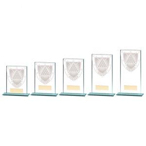Millennium Snooker Jade Glass Award
