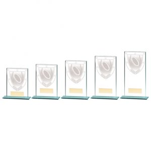 Millennium Rugby Jade Glass Award