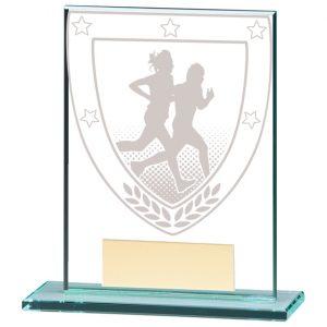 Millennium Running Jade Glass Award – 110mm