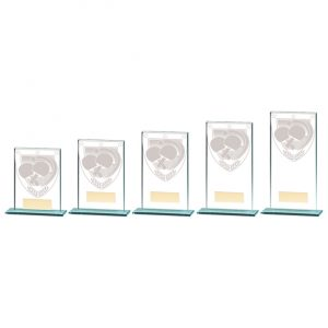 Millennium Table Tennis Jade Glass Award