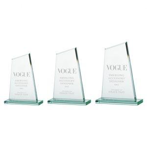 Vanquish Jade Crystal Award
