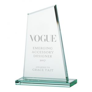 Vanquish Jade Crystal Award – 175mm