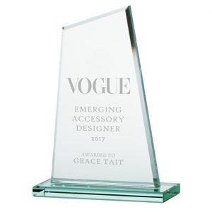 Vanquish Jade Crystal Award – 200mm