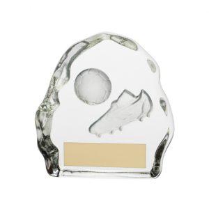 Sub-Zero Football Glass Award 75mm