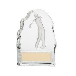 Challenger Golf Crystal Award – 110mm