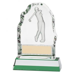 Challenger Golf Crystal Award – 130mm