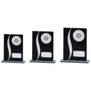 Spirit Multisport Mirror Glass Award Black & Silver