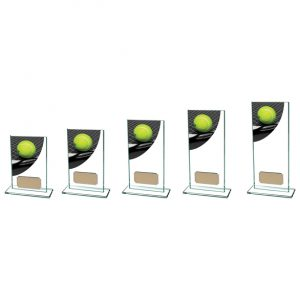 Colour Curve Tennis Jade Glass Award