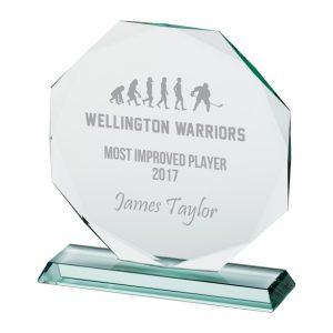 Jade Recognition Crystal Award – 200mm