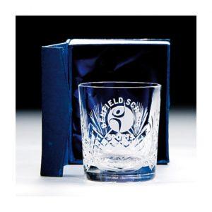 Lindisfarne Gospels Crystal Whiskey Glass 145mm