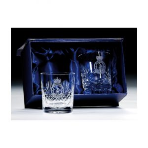 Lindisfarne Gospels Crystal Whiskey Glasses 145mm