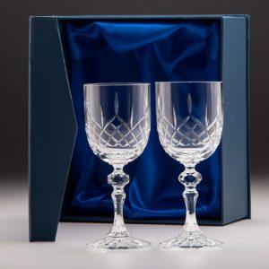 Lindisfarne Suna Crystal Wine Glasses 250mm