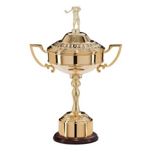 Sterling Golf Gold Plated Cup 305mm
