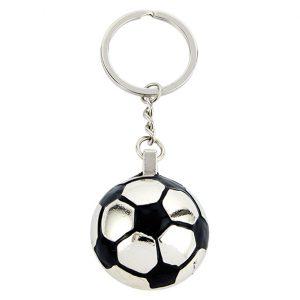 Monaco Football Keyring 30mm